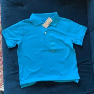 Light blue toddler boy polo NWT 4T